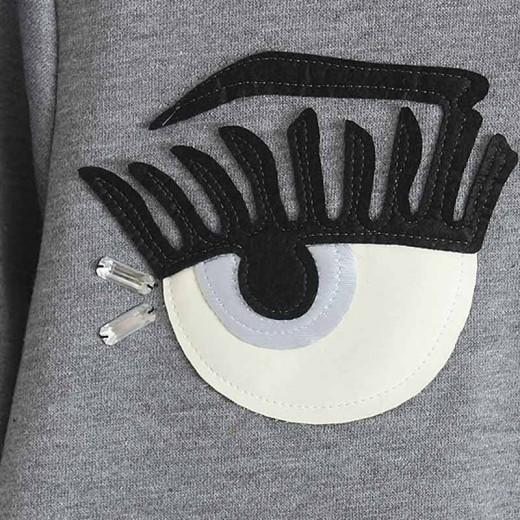 Beaded Eyelash Fashionistas Pullover