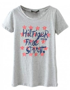 Casual Hilfiger Free Spirit Letters Top
