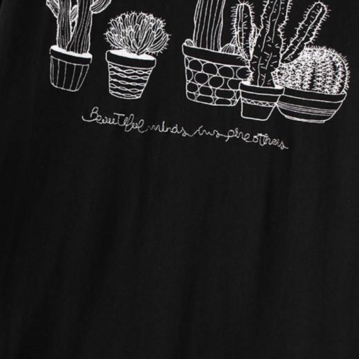 Black & White Cactus T-shirt
