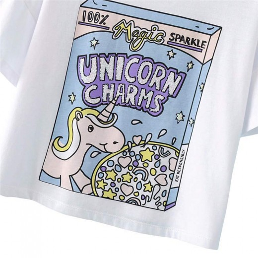 Sweet Unicorn Charms T-shirt