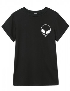 Alien Black T-shirt