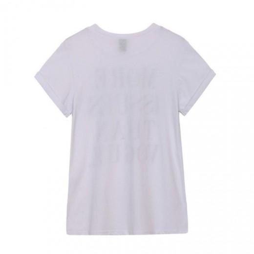 Vogue Letters Print T-shirt