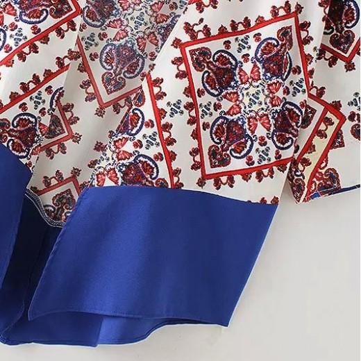 Geometric & Totem Pattern Kimono