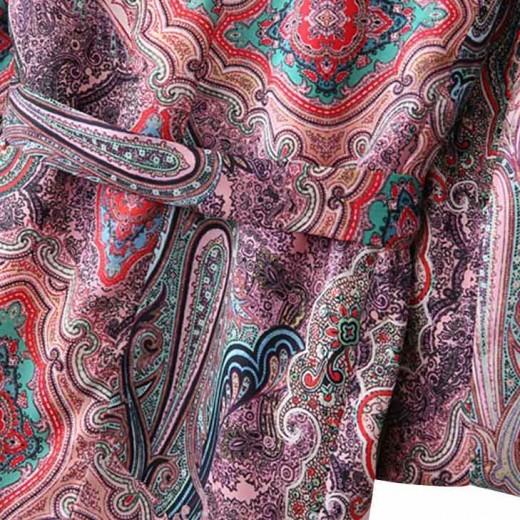 'Yulissa' Paisley Kimono Dress