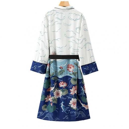 'Anamaria' Floral Kimono Robe