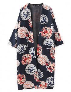 Philomena Loose Floral Kimono