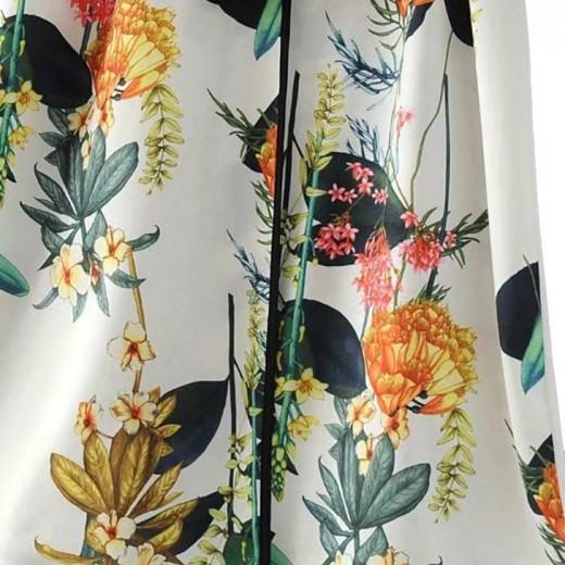 'Moriah' Long Floral Kimono