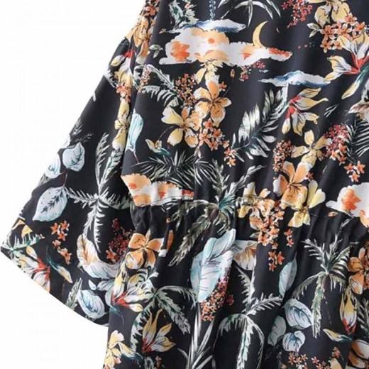 'Primrose' Oversized Floral Kimono
