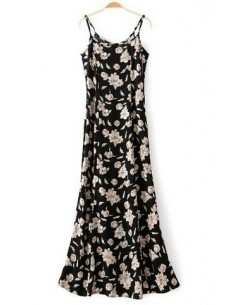 Summer Maxi Dress in Floral Print