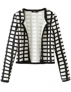 Squared Cropped Jacket