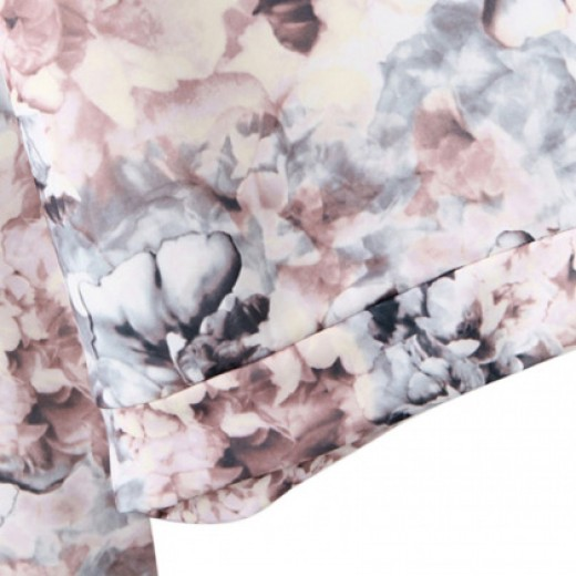 Floral 3D Print Sweatshirt