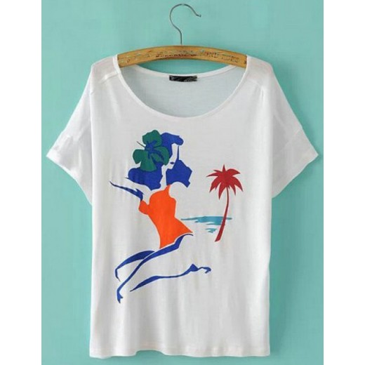 Cute Minimal Art Print T-shirt