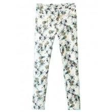 Pineapple Print Skinny Pants