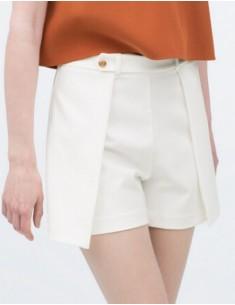 Elegant Straight Chic Shorts