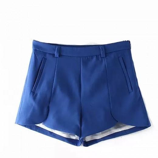 Petal Shape Pockets Shorts